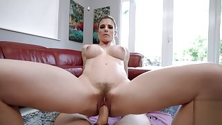 Step Mom Yoga Instructor Fucked by Step Descendant with Burly Weasel words - Cory Chase