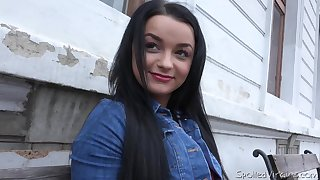 Dasha's mischievous look is hypnotic and that drab loves MMF threesomes