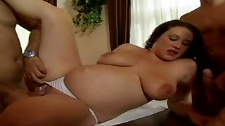 Gangbang My Pregnant Hot Wife Approximately Naturally Hardcore Style