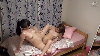 Horny Japanese model back Amazing HD, Lesbian JAV movie