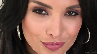 Seductive mature whore Anissa Kate ass fucked and creampied hardcore