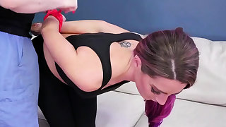Cop domination Ass-Slave Yoga